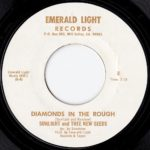"Record label for ""Diamonds In The Rough"" by Sunlight and Thee New Seeds (Sky Saxon) on Emerald Light, 1975"