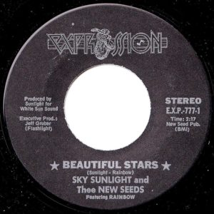 Expression-777-picsleeve-Beautiful-Stars-vinyl
