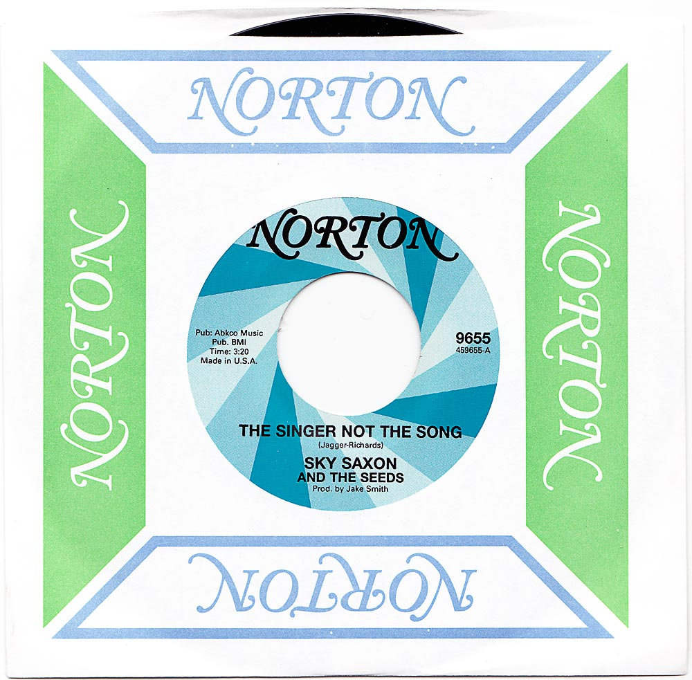 Norton-Singer-Not-the-Song-in-sleeve